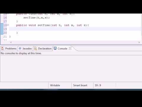 Java Programming Tutorial - 39 - Multiple Constructors