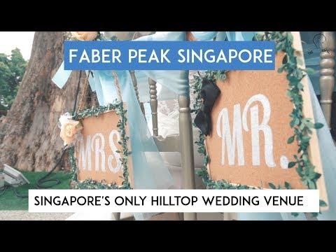 Faber Peak Singapore - Singapore's Only Hilltop Wedding Venue