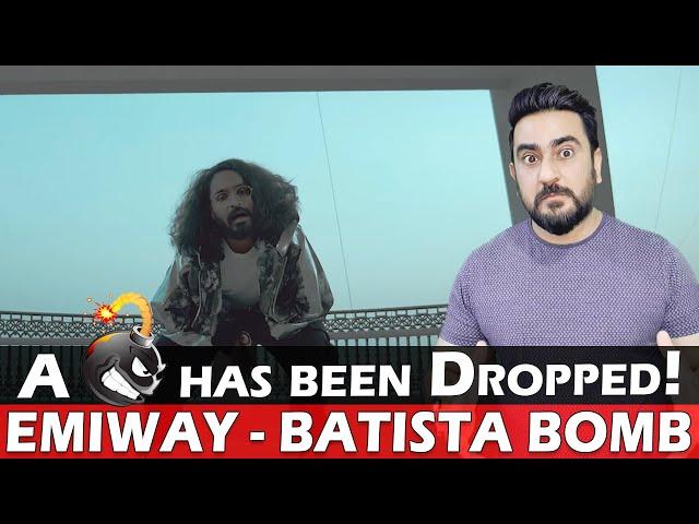 EMIWAY - BATISTA BOMB Reaction | (OFFICIAL MUSIC VIDEO) | IAmFawad