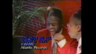 Kwame- The Man We All Know And Love