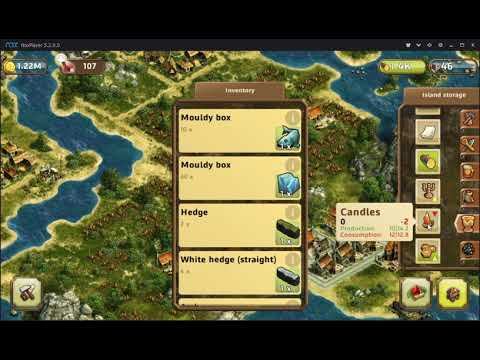 Anno: Build an Empire; How to Produce Copper, Beeswax, Candles and Candlesticks