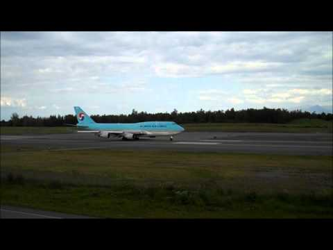 Anchorage International Airport- Runway 15 Arrivals and Departures