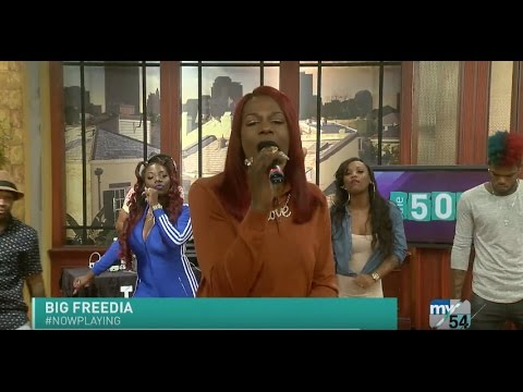 "Big Freedia Performs ""I Heard"""