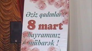 8 mart Agdam ve Berdede qeyd olunub