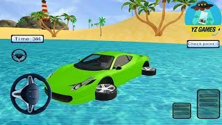 Water Chained Cars Stunt Race | Android GamePlay FHD
