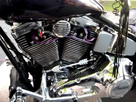 Indian Motorcycle With S S Motor Youtube