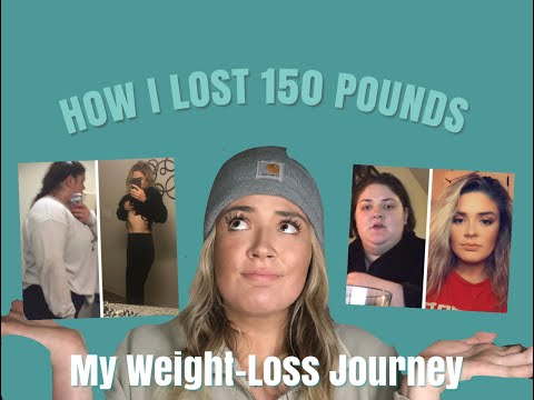 HOW I LOST 150 POUNDS!!!! | MY WEIGHT-LOSS JOURNEY (in college!)