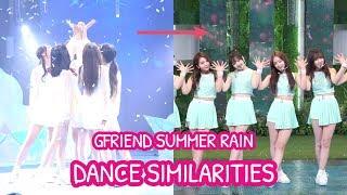 Video GFRIEND SUMMER RAIN - Dance Similarities download MP3, 3GP, MP4, WEBM, AVI, FLV Agustus 2018