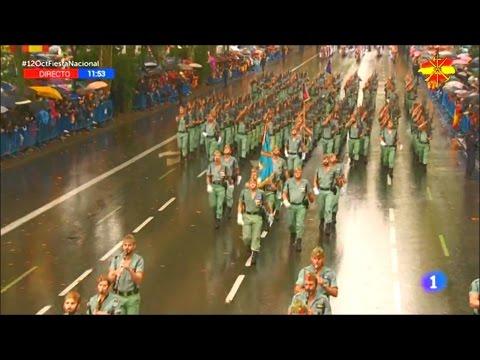 La Legión en la Fiesta Nacional 2016 (TVE)