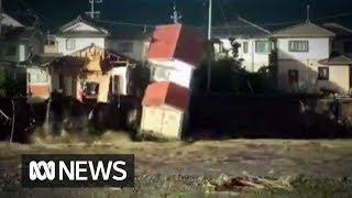 Typhoon Hagibis death toll reaches 30 after rivers break banks in Japan | ABC News