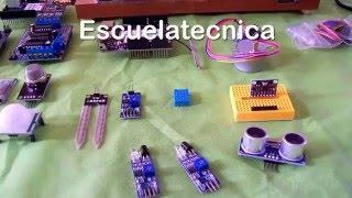 Varios tipos de sensores de Arduino | Clase de arduino Ep.3 | Escuelatecnica