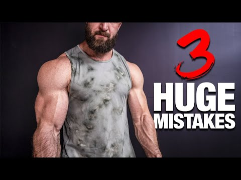 How To Get BIGGER ARMS (3 MISTAKES YOU'RE MAKING!)