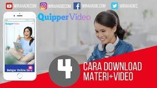 Gambar cover Cara Download Video Quipper Menggunakan HP
