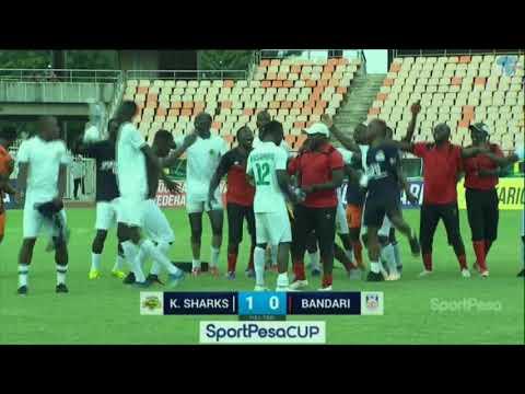 Kariobangi Sharks new champions of Sportpesa Cup 2019 after beating Bandari FC 1-0 in the finals