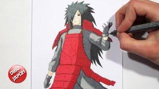 How to draw Madara Uchiha / Cómo dibujar a Madara Uchiha [Naruto Shippuden]