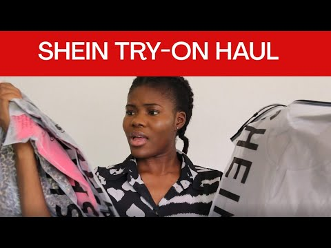 SHEIN TRY ON HAUL 2021   FREE SHIPPING TO NIGERIA