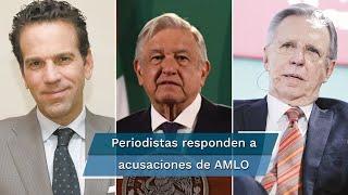 El presidente López Obrador acusó a medios de información de estar en su contra, al igual que periodistas como Joaquín López-Dóriga, Ciro Gómez Leyva y Carlos Loret de Mola
