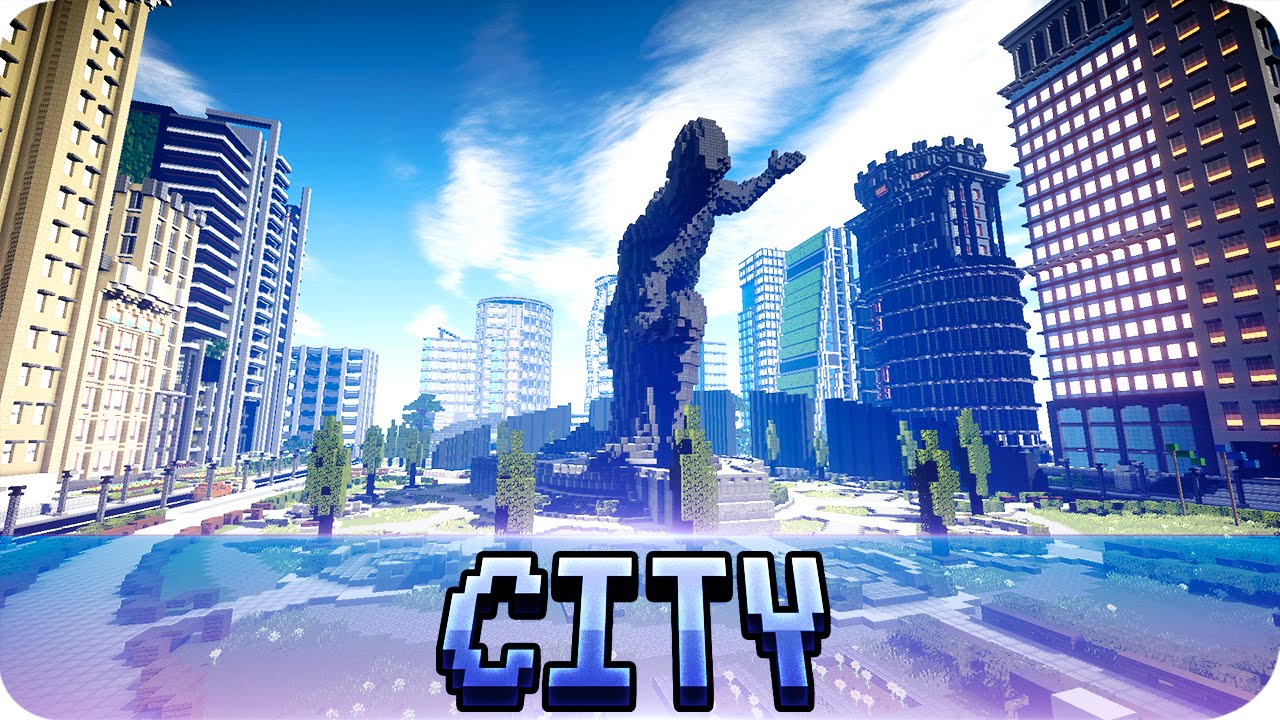 Minecraft - Metropolis City from Batman v Superman - JerenVids ...