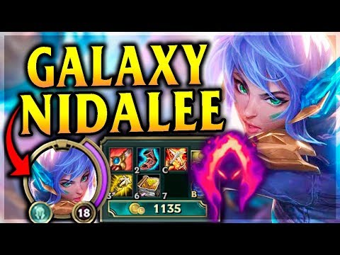 NO JUNGLER COULD BE READY FOR THIS! Super Galaxy Nidalee Jungle - League of Legends Commentary