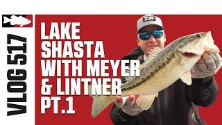 Cody Meyer and Jared Lintner Finesse Fishing On Lake Shasta with Daiwa - Tackle Warehouse VLOG #517