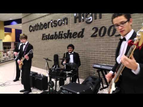 Rock band Christmas