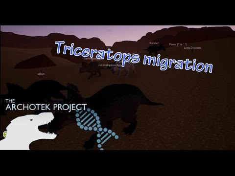 The ArchoTek Project|Triceratops Migration.