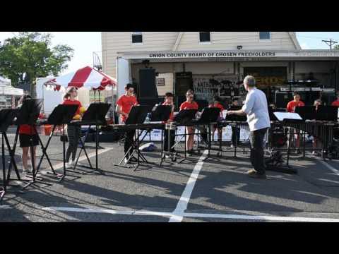 Roselle Park Middle School Percussion Ensemble 6-9-17 -Blue Spanish Eyes