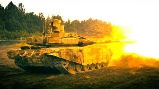 Танк Т90СМ и БМПТ Терминатор   3D Стерео
