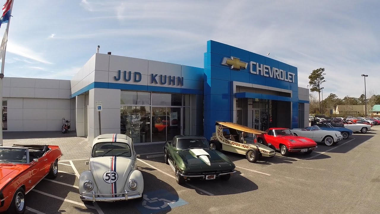 Jud Kuhn Chevrolet Classic Car Line Up YouTube - Jud kuhn chevrolet car show