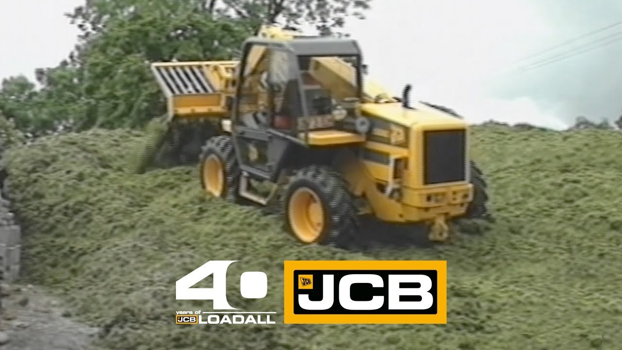 JCB Loadall on Silage - Celebrating 40 Years of Loadall