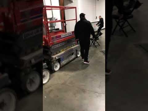 (Longer video) Conor McGregor attacks ufc bus backstage!!! UFC 223 BARCLAYS center!!!