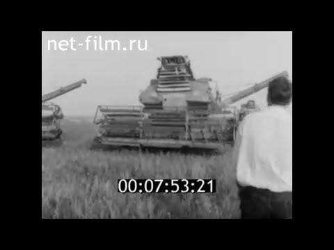 1984г. совхоз Алгайский Новоузенский район Саратовская обл