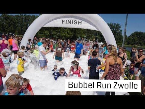 Bubbel Run Zwolle | FUN RUN voor jong en oud met veel Schuim!!