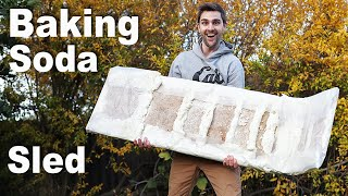 REAL Sled made from Baking Soda! PART 1