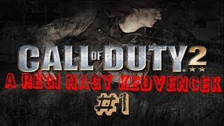 A LEGJOBB COD EVER! | Call of Duty 2 | GS Duo #1