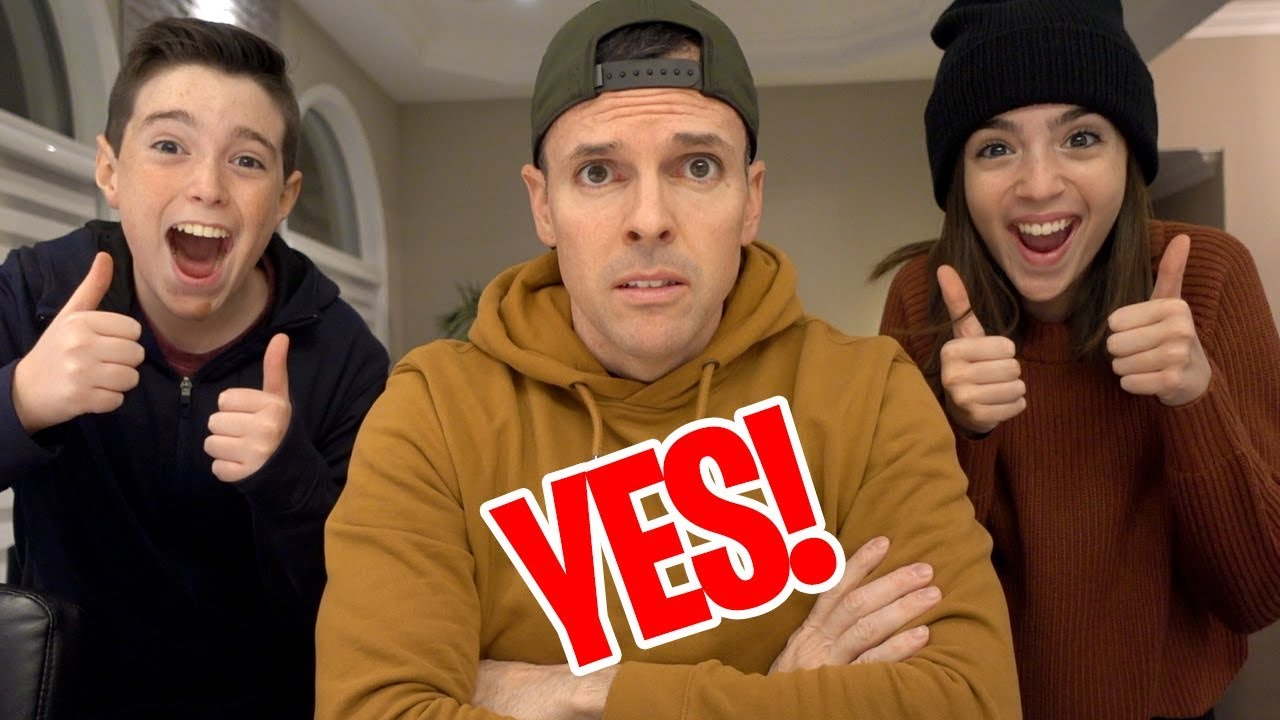 Dad Says Yes To Everything For 24 Hours Youtube