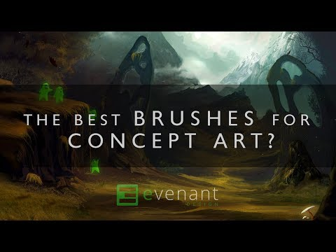 Photoshop Brushes For Concept Art