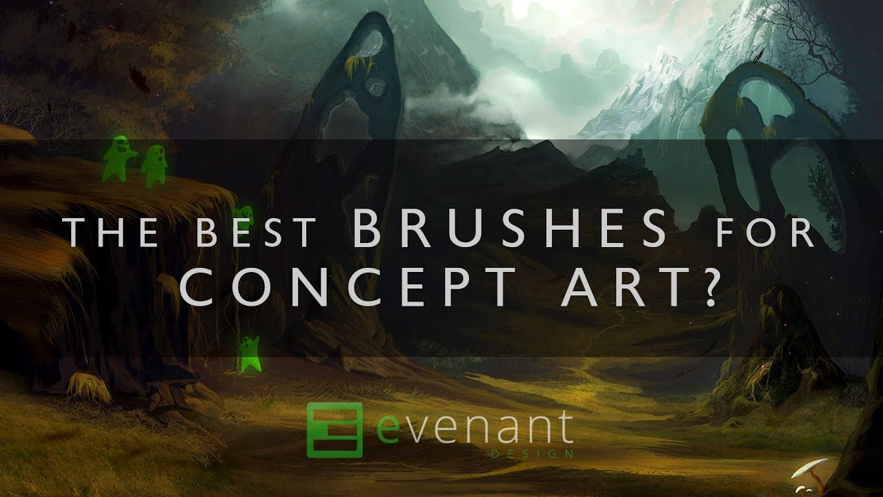 The Best Brushes For Concept Art Concept Art Basics Digital Painting Youtube,John F Kennedy Junior Young