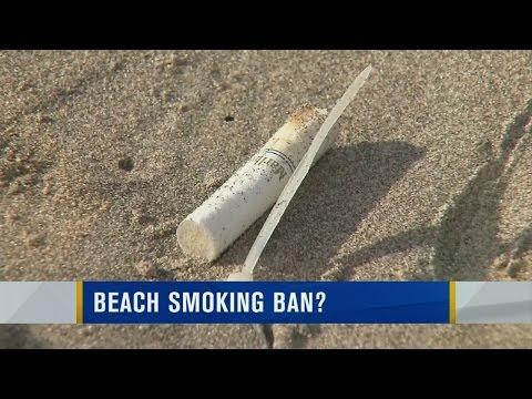 Oregon moves to ban smoking on beaches