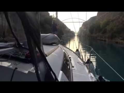 Corinth Canal Passage