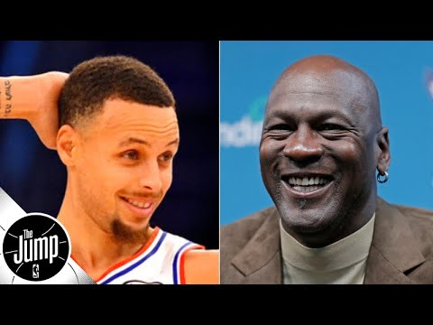 Stephen Curry has responded to Michael Jordan's Hall of Fame comments | The Jump
