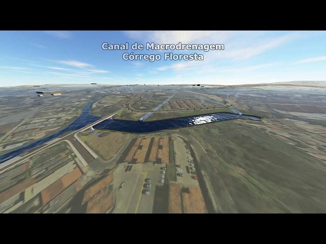 Vídeo mostra detalhes das obras contra enchentes na Vilarinho
