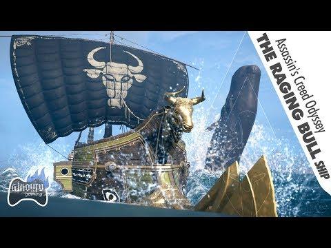Assassin's Creed Odyssey: Raging Bull | Ship Design