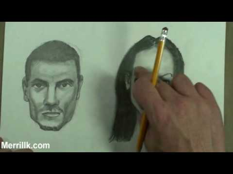 Differences Between Male and Female Skull, Head, Face- Art Tips by Merrill Kazanjian