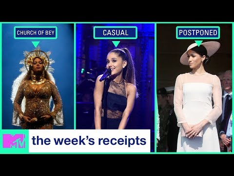 Beyoncé Buys a Church & Are Ariana Grande & SNL's Pete Davidson Dating? | The Week's Receipts | MTV