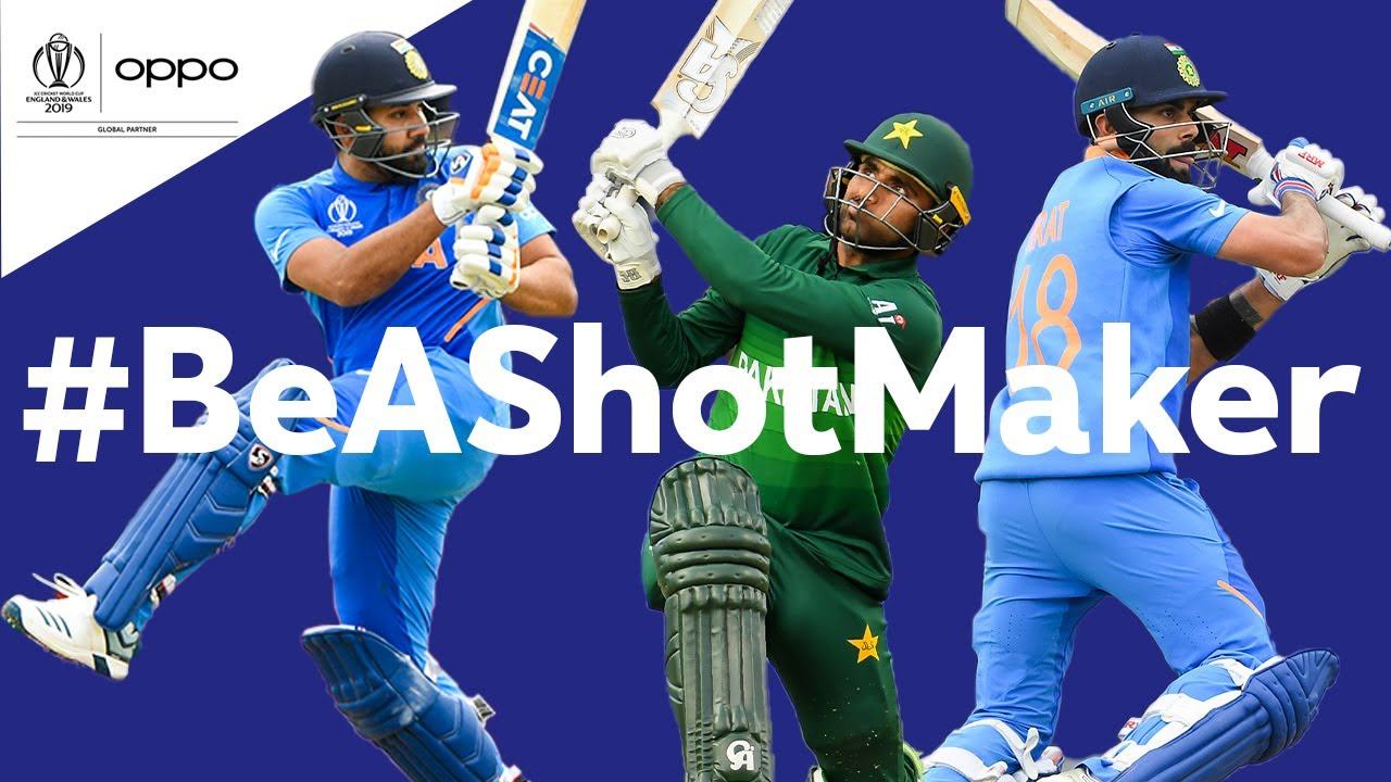 Oppo #BeAShotMaker   India v Pakistan - Shot of the Day   ICC Cricket World Cup 2019
