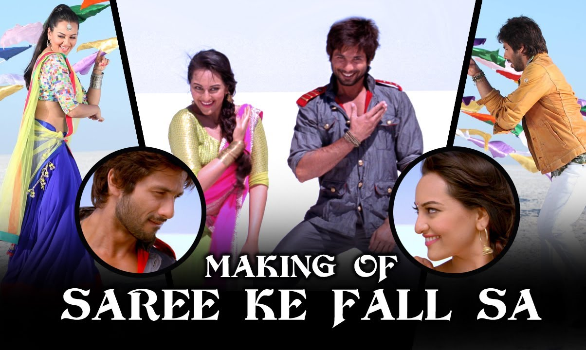 Saree ke fall sa song from r. Rajkumar ft shahid kapoor.