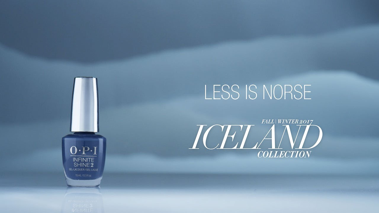 Video:OPI Iceland Shade Story | Less is Norse