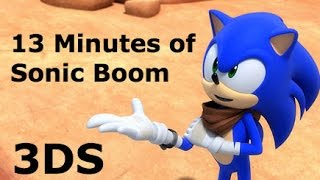 13 Minutes of Sonic Boom: Shattered Crystal (3DS)