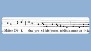 Ave Maria (Antiphon, Simple tone)